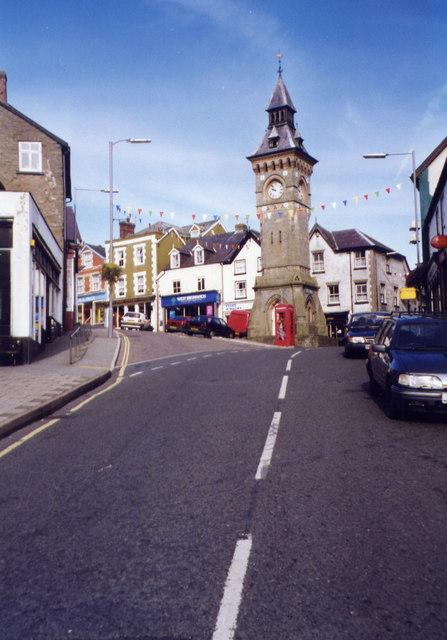 Clock Tower, Knighton, Powys