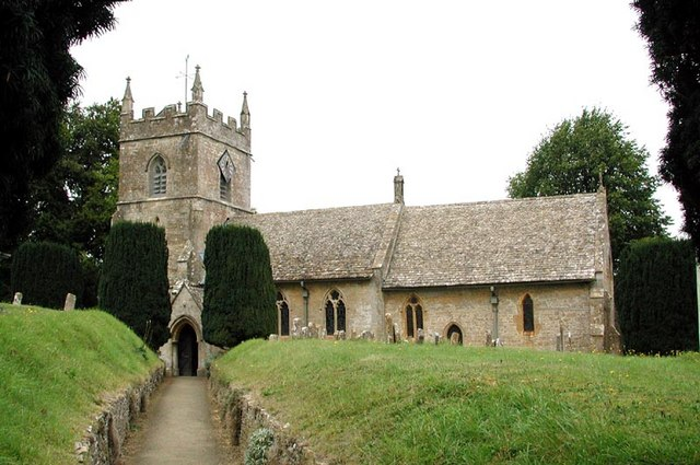 St Peter, Upper Slaughter. Gloucestershire