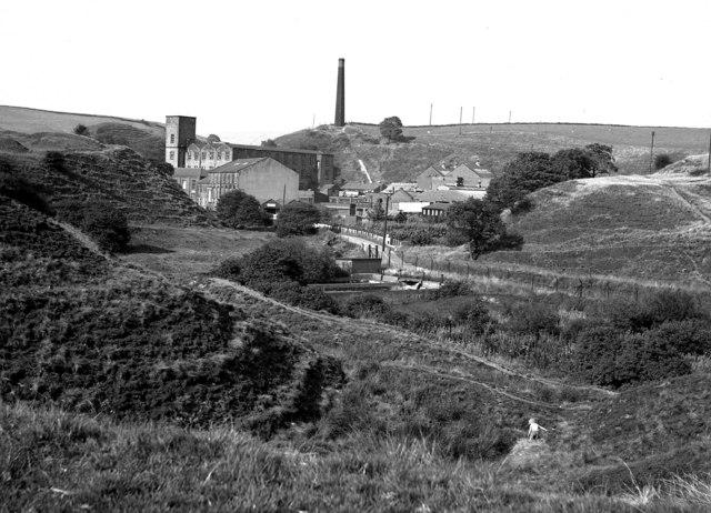 Rydings Mill village, near Wardle, Lancashire