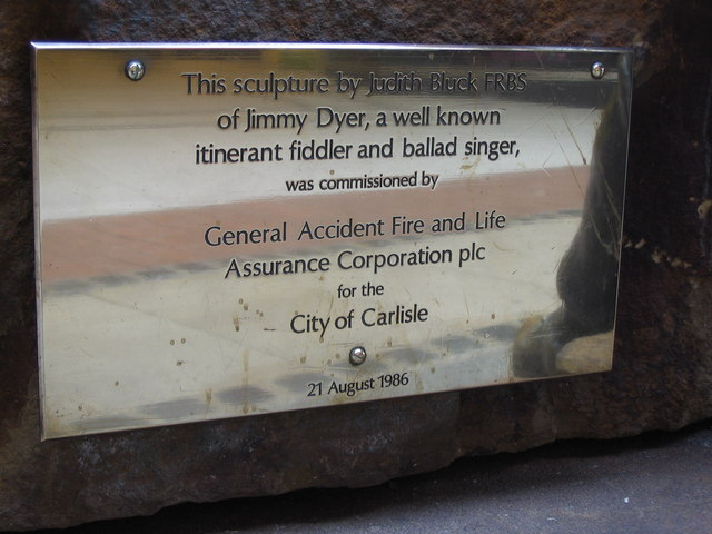 Jimmy Dyer plaque