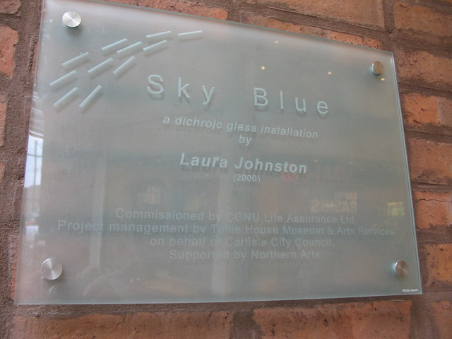 Sky Blue information plaque