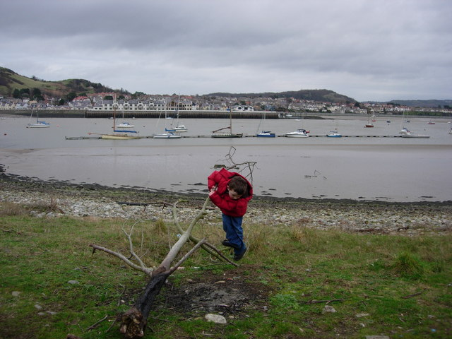 Conwy estuary and Deganwy