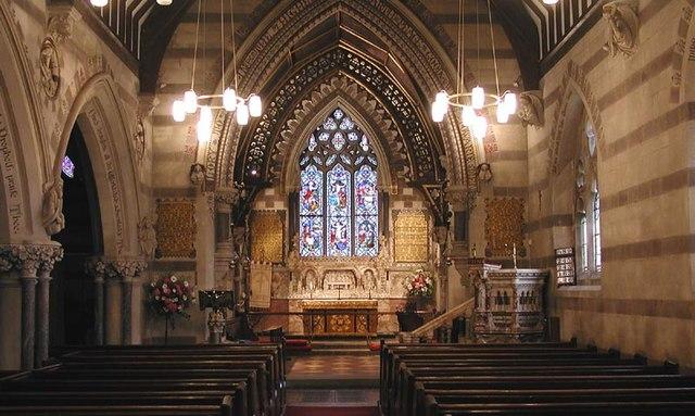 St John the Baptist, Huntley, Gloucestershire - East end