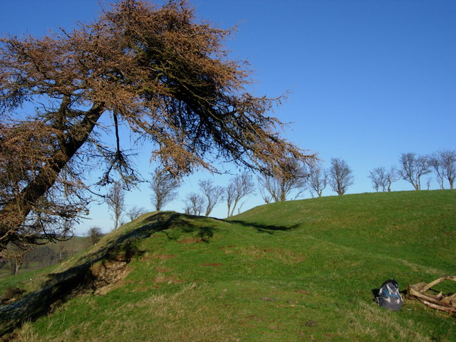 Offa's Dyke north of Newcastle on Clun