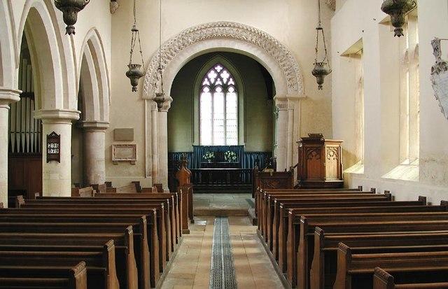 S Mary Great Barrington, Gloucestershire - East end