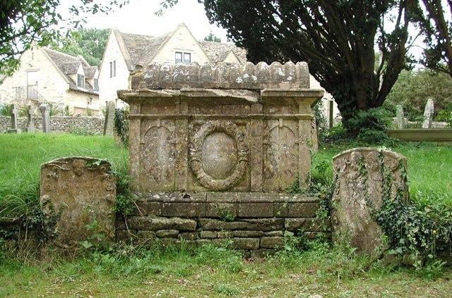 St Peter, Windrush, Gloucestershire - Churchyard