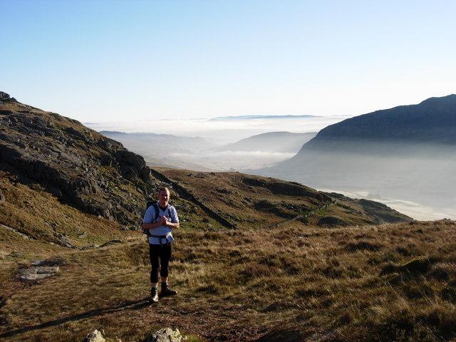 East ridge of Pen yr Ole Wen