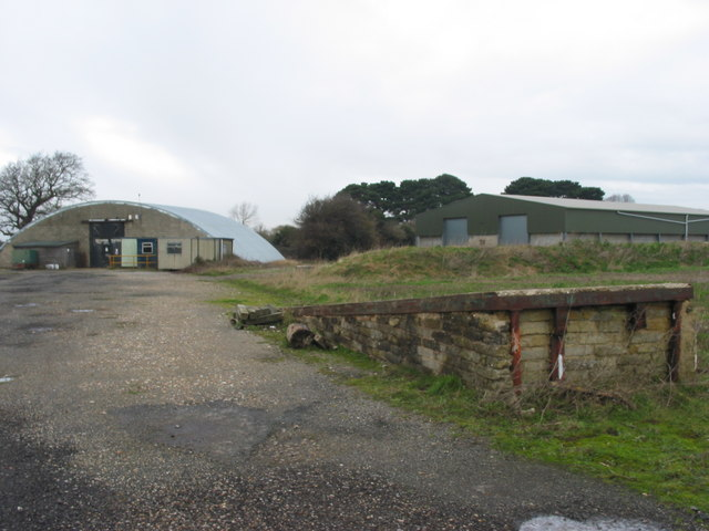 Former Hangars at Former Ford Airfield