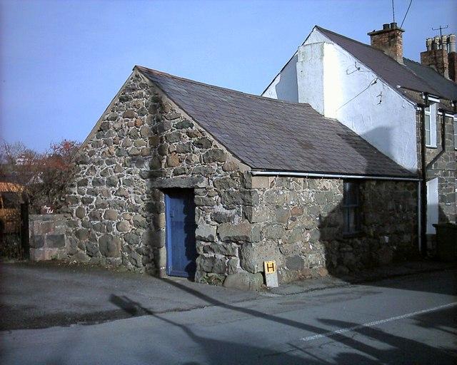 Gefail pentref Chwilog village smithy