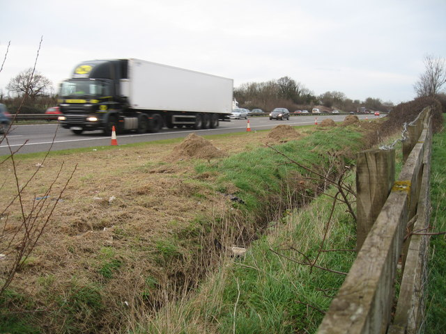 M5, just south of Junction 13