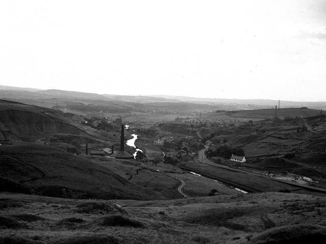 View over Summit, Littleborough, Lancashire