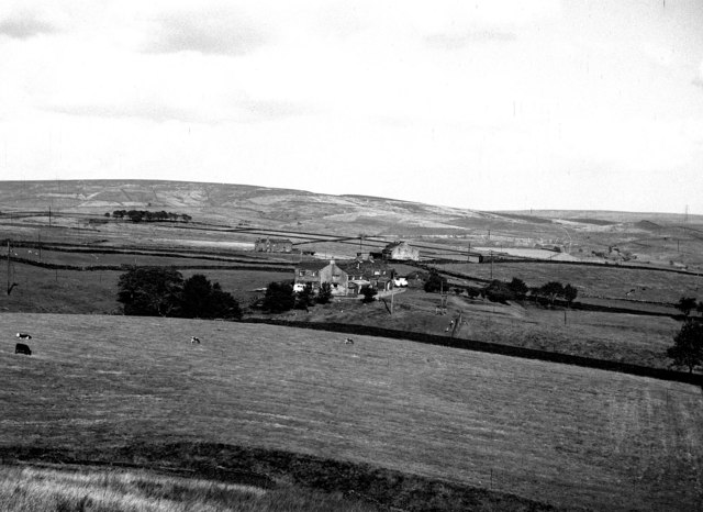 Pennine farms near Wardle, Lancashire
