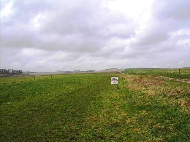 Gallops, Dean Bottom, near Marlborough