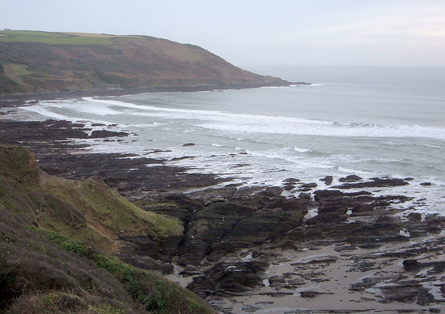 View across to Queener Point from Captain Blake's Point