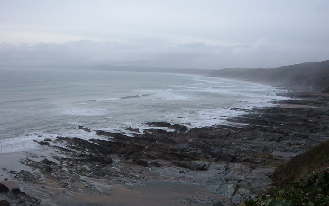 View over Reefs towards Looe at Captain Blake's Point