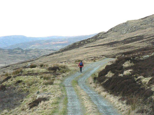 Moorland track