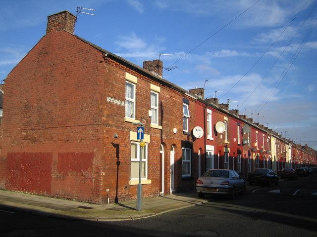 Liverpool: Holmes Street, L8