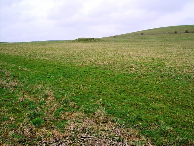 Tumulus, near Rockley, Marlborough