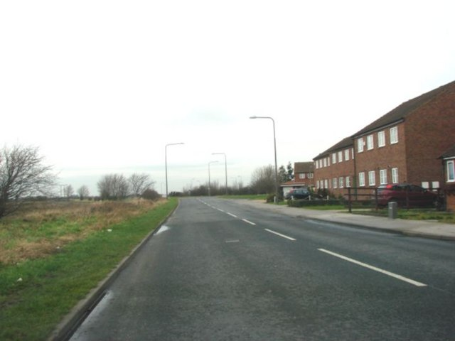 York Road, Barlby, Junction with the A19