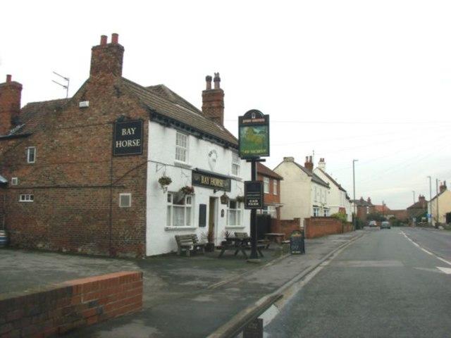 The Bay Horse Pub, Barlby
