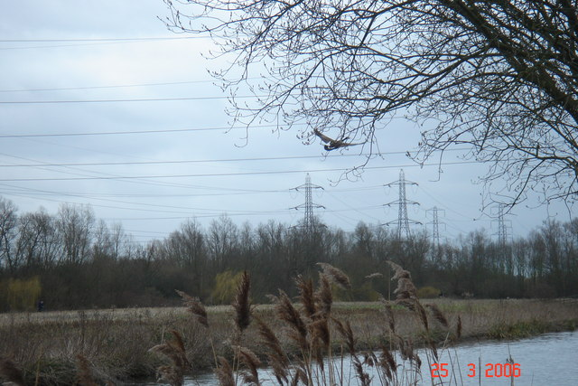 The River Lea at Turnford