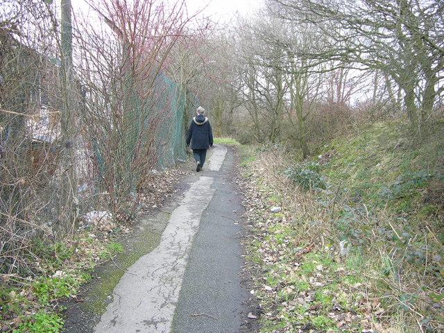 Spath Lane - Footpath
