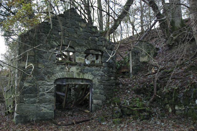 Ruin of a saw mill.
