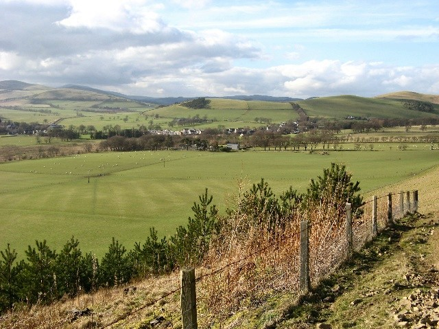 View over Broughton