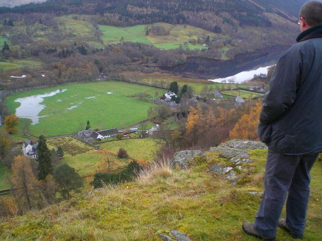 Balquhidder from Creag an Tuirc, The Gathering Place of the Clan MacLaren