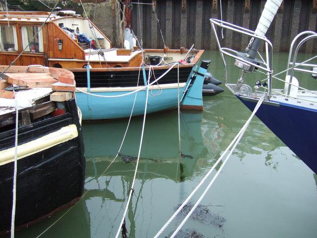 Boats at Dartmouth