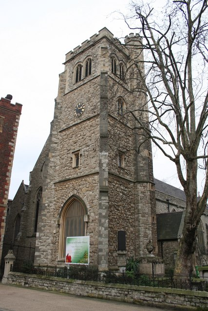 St.Mary-at-Lambeth church tower