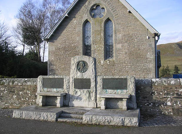 The Thomas Telford memorial at Bentpath