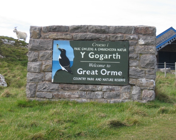 'Welcome to Great Orme Country Park'