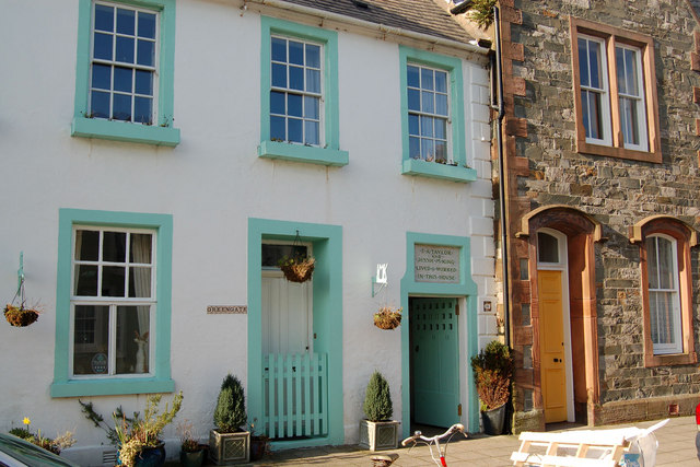 Kirkcudbright.The artists town.