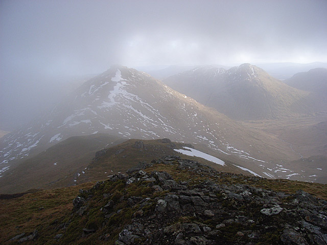 South ridge, Cruach Ardrain