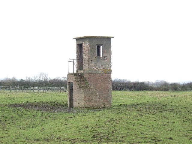 Brick watchtower