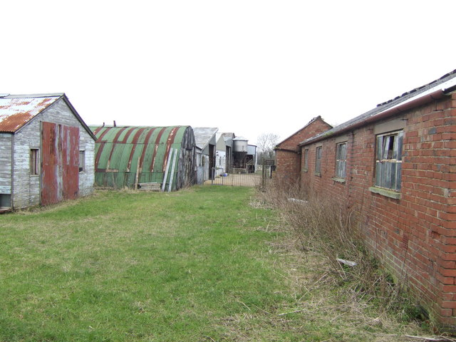 Disused outbuildings at Westcote Farm