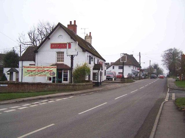 Red Lion & Post Office, Baydon