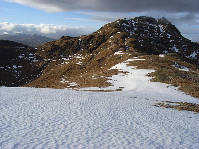 North ridge, Beinn Tulaichean