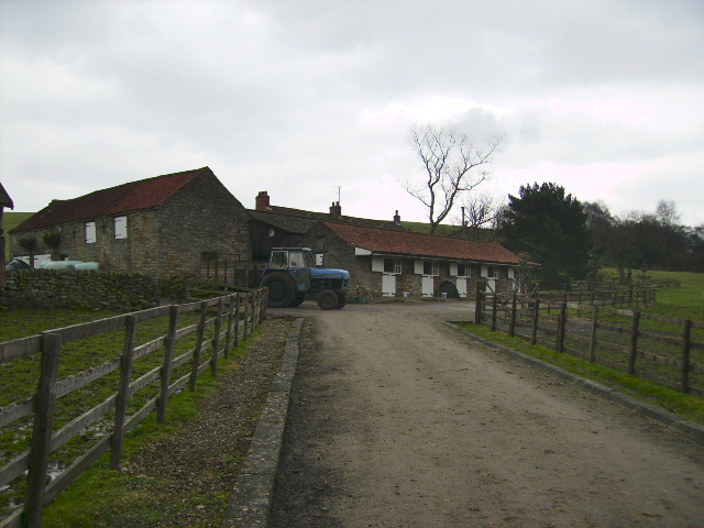 Stables and farmbuildings at High Farm