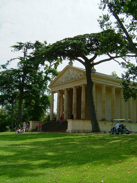 The Temple of Concord and Victory, Stowe Landscape Gardens