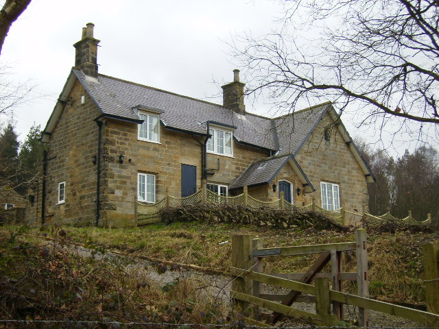 Former school house near Langdale End