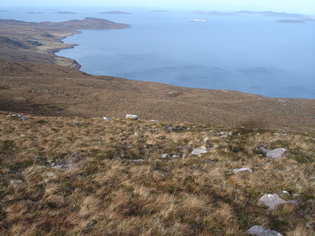 Moorland above Annat Bay