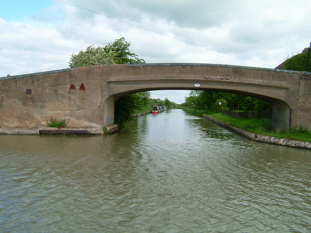 Towpath bridge, Napton Junction, Napton on the Hill