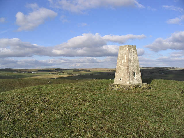 Wiltonburn Hill trig point