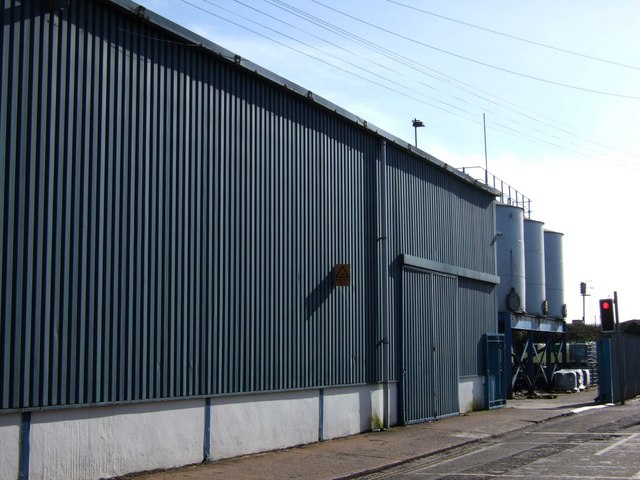 Colas factory, Exeter