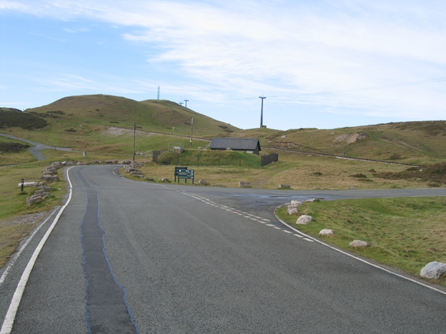 Road Junction on the Great Orme