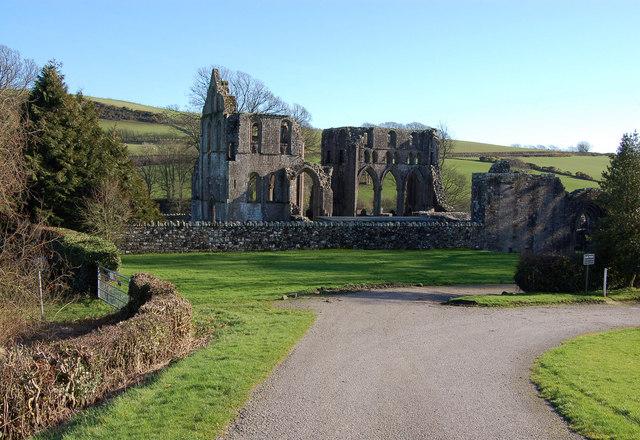 Dundrennan Abbey.