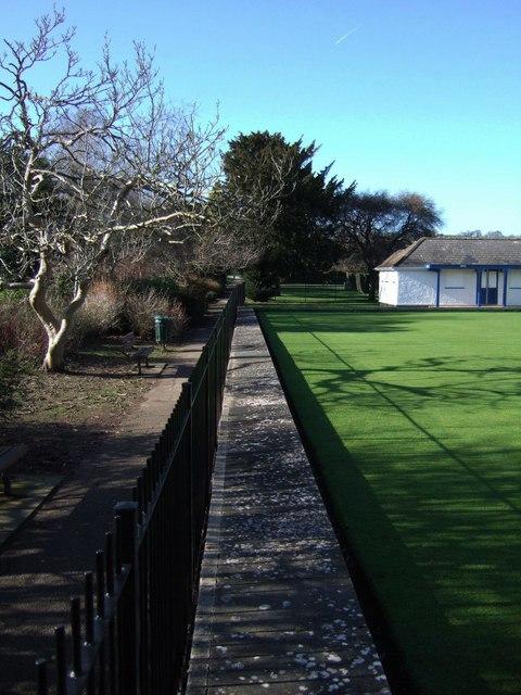 Bowling green, Pince's Gardens