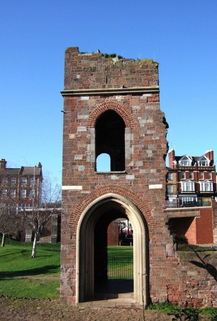 St Edmund's church tower, Exeter